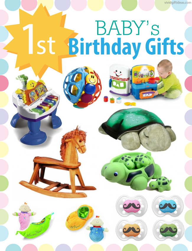 1st Birthday Gift Ideas For Boys and Girls - Vivid's
