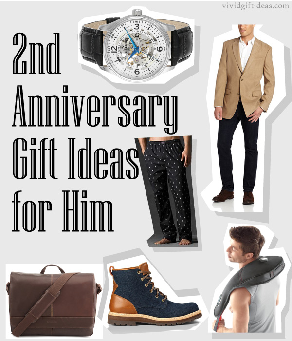 2nd Anniversary Gift Ideas For Him Jpg