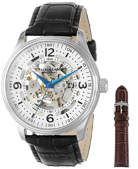 Stuhrling-Original-Mens-730.SET_.01-Delphi-Denmark-Automatic-Skeleton ...