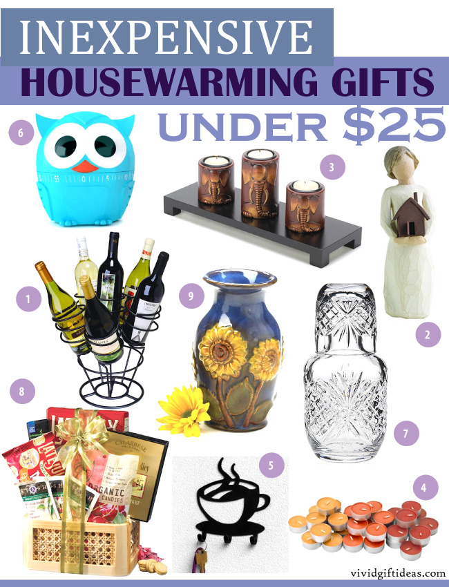 Inexpensive housewarming gifts under 25 vivid 39 s for Practical housewarming gift ideas