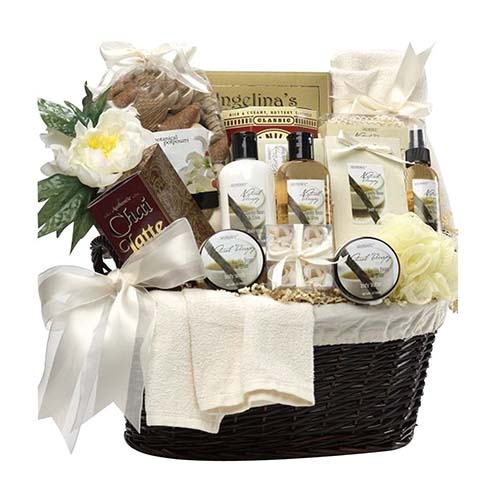 Wedding Gift For Child Of Groom : Art-of-Appreciation-Gift-Baskets-Essence-of-Luxury-Spa-Bath-and-Body ...