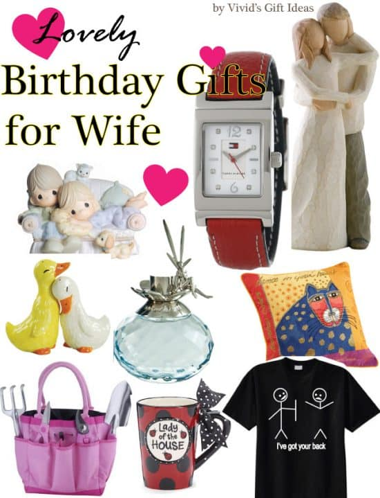 lovely birthday gifts for wife vivid s