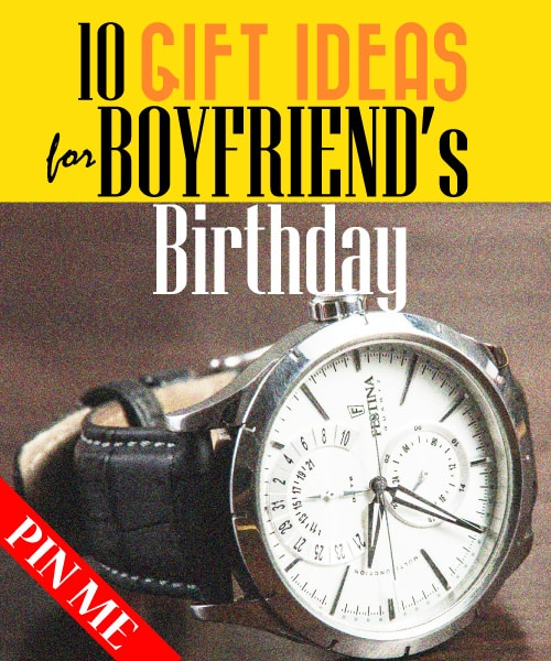 Gift ideas for boyfriend gift ideas for boyfriend birthday 21 for Best gifts for boyfriend birthday