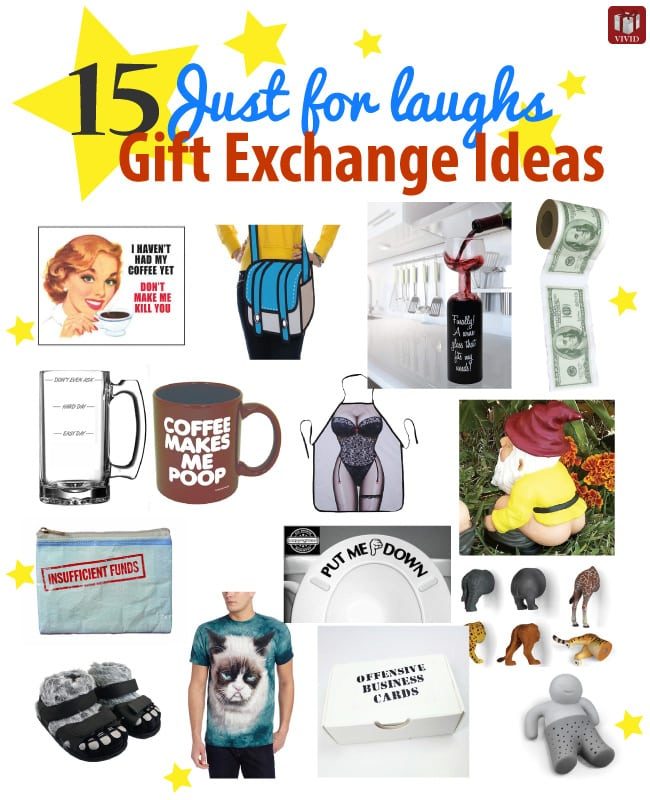 Wedding Gift Exchange Suggestions : 15 Just-for-Laughs Funny Gift Exchange IdeasVivids