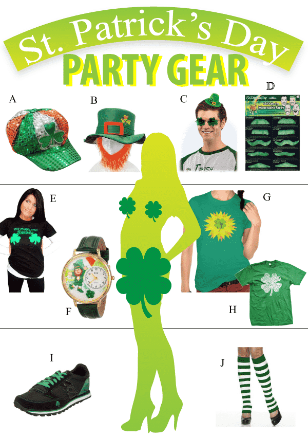 St Patrick S Day Party Gear Review Vivid S Gift Ideas