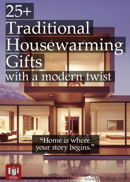 25 traditional housewarming gifts for men women and for Best housewarming gifts for young couples