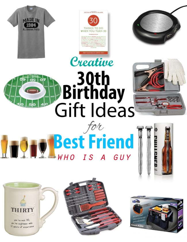Wedding Gift For Your Best Guy Friend : Creative 30th Birthday Gift ideas for Male Best FriendVivids