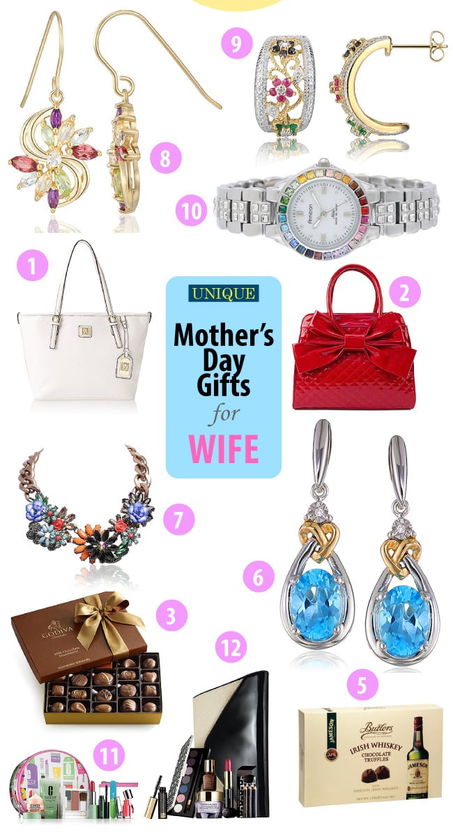 Good Mothers Day Gifts For Wife Mother Day Gift Ideas For
