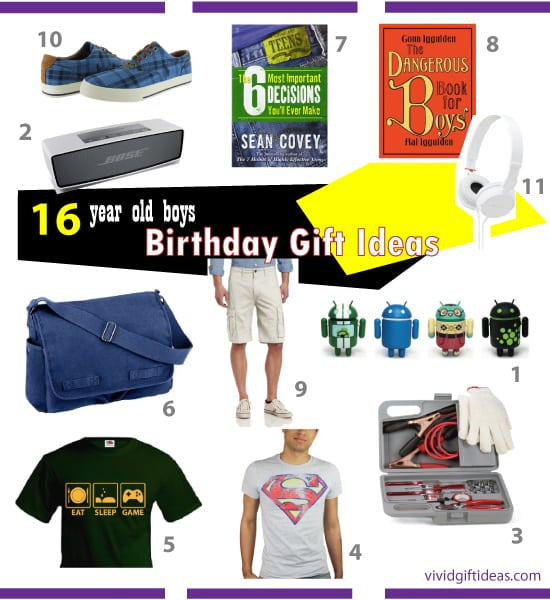 17 Best Ideas About Cool Boys Bedrooms On Pinterest: Good Birthday Gifts For 16 Year Old Boys
