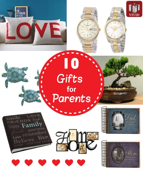 10 Best Gifts For Parents