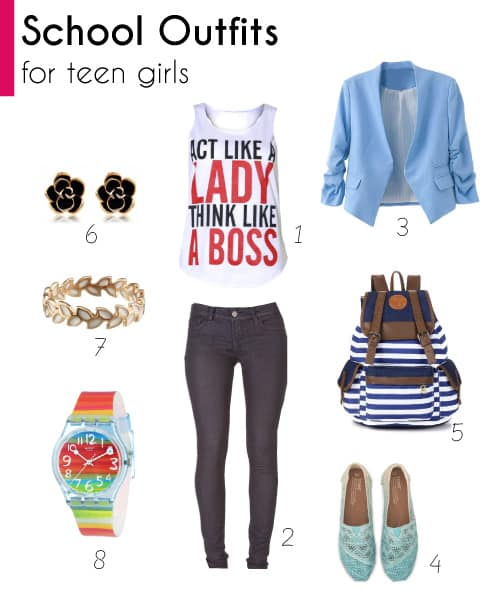 2018 Teen Fashion: Cool Outfits For School