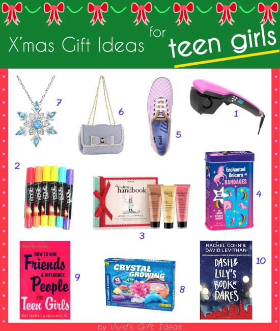 What christmas present to get for teen girls vivid s