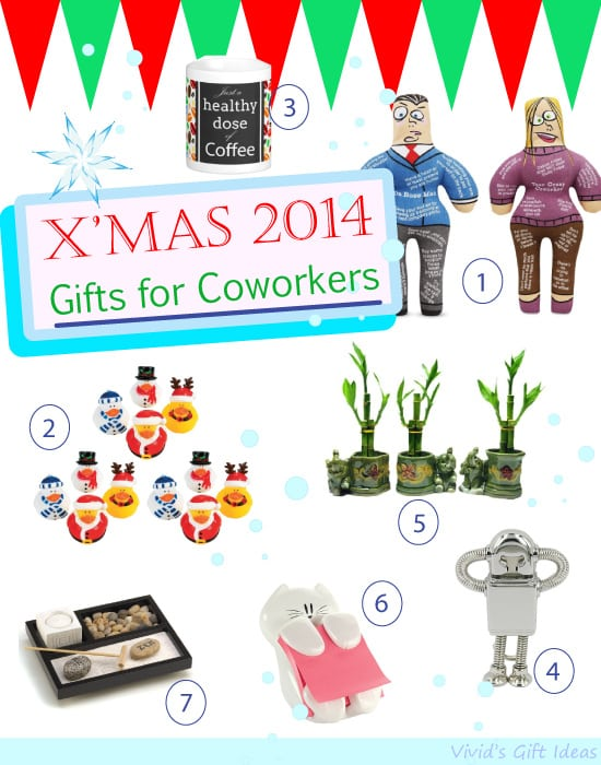Wedding Gift Ideas For Office Colleagues : Best Gifts for Coworkers (Christmas 2014) - Vivids