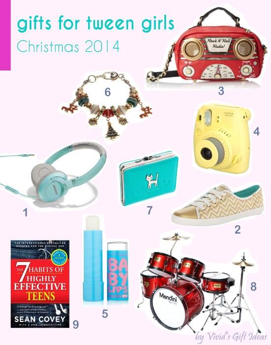 12 Christmas Gift Ideas for Tween Girls - Vivid's