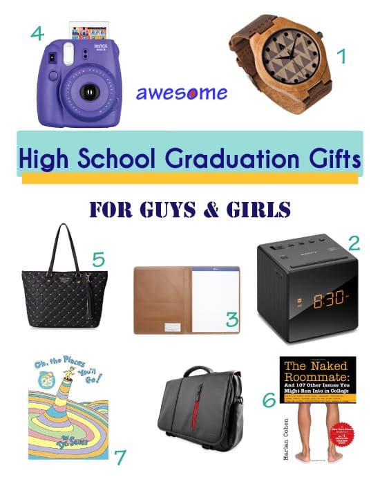High School Graduation: 7 Awesome Gift Ideas - Vivid's