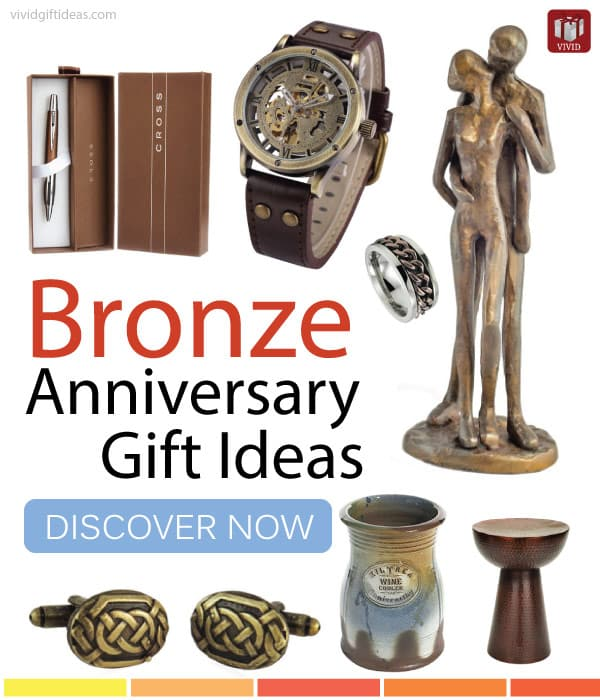 Cool Wedding Gifts For Young Couples: Top Bronze Anniversary Gift Ideas For Men