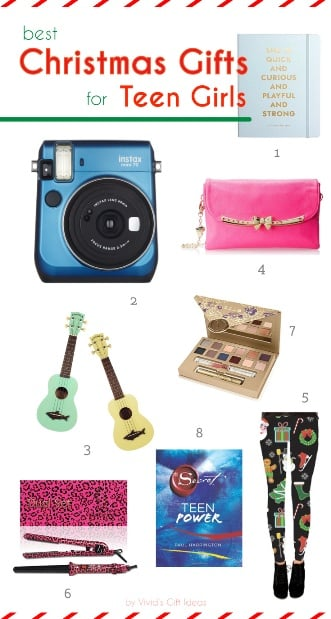 Top 10 Christmas Present Ideas For Teen Girls Vivid S