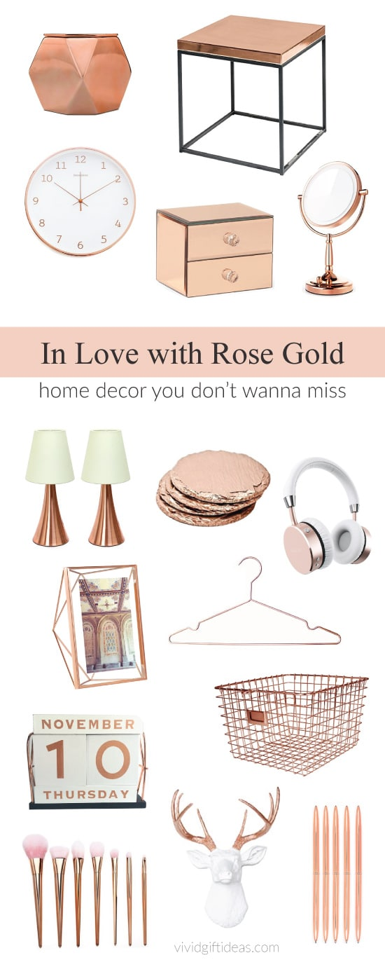 27 Rose Gold Room Decor Perfect For Bedroom And Dorm