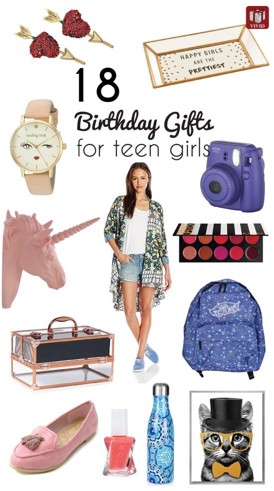 18 Top Birthday Gift Ideas For Teenage Girls