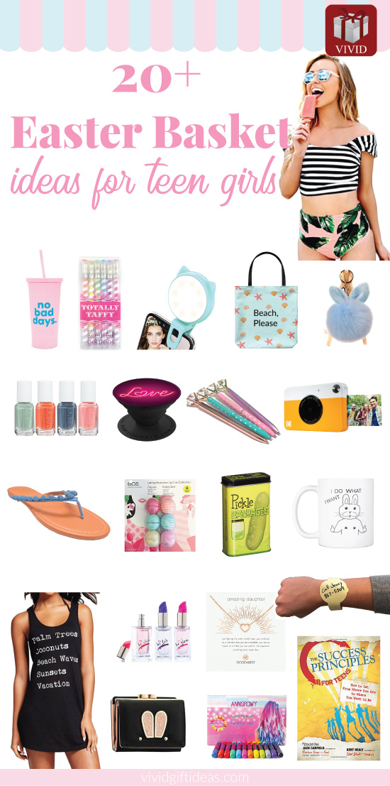 Best easter basket gifts for teen girls 20 trendy stuff loved by easter basket for teen girls negle Images