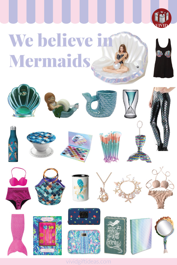 30 Cute Mermaid Gifts For Girls Adults